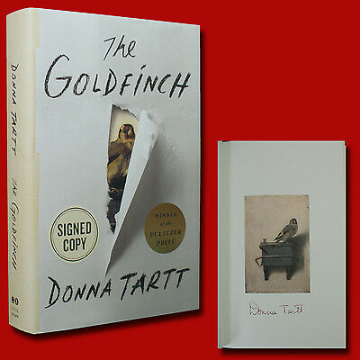 The Goldfinch by Donna Tartt (2013,HC,1st/1st) SIGNED BRAND NEW