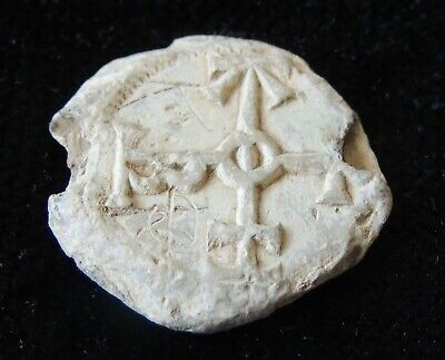 Gorgeous Ancient Byzantine Lead Seal Super High Grade