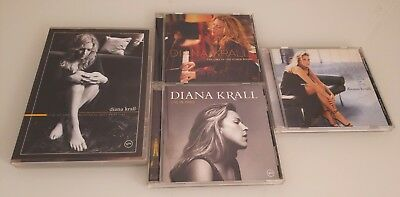 Diana Krall LOT DVD CD LOT Live at Montreal Jazz Festival Live Paris Look Love