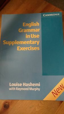 9780521755498 English Grammar in Use Supplementary Exercises by Louise Hashemi (
