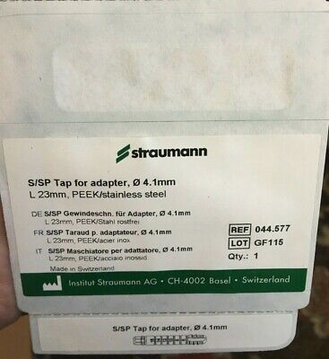 NEW! Straumann S/SP Tap for adapter 4.1 mm 23 mm length