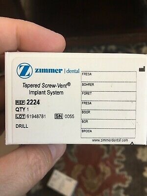 NEW! Zimmer Biomet Surgical Drill Ref 2224