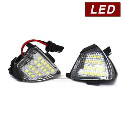Set of 2 Lamps, Bright LED Courtesy Puddle Light, 6000K Cool White Upgrade