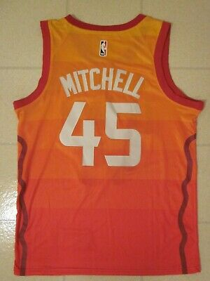 the latest 89c08 709c4 DONOVAN MITCHELL CITY Edition Jersey Utah Jazz Size M 48 ...