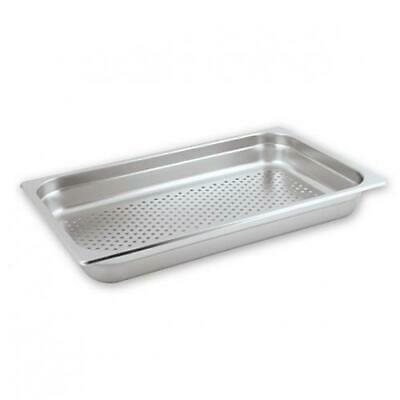 Bain Marie Tray / Steam Pan / Gastronorm Perforated 1/1 Size 65mm Deep