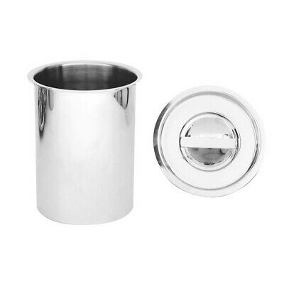 Bain Marie Canister with Lid 3 Litre Stainless Steel Soup / Gravy / Sauce