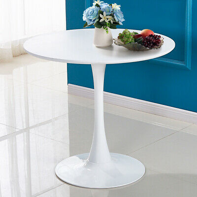 """Round Pedestal Table in White ,Tulip Design Coffee Table Dining Table 32"""""""