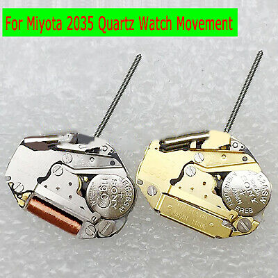 For Miyota 2035 Quartz Watch Movement with Battery Watch Parts Accessories