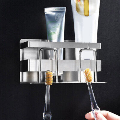 Bathroom Toothbrush Holder Stand Set Plastic Cup Toothpaste Storage Rack ULO