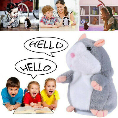 2019 Cute Talking Hamster Nod Mouse Record Chat Mimicry child Plush Toy Gifts
