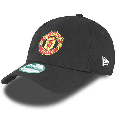 Manchester United F.C. New Era 9Forty Cap Black
