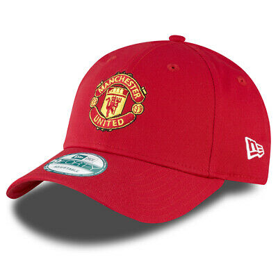Manchester United F.C. New Era 9Forty Cap Scarlet