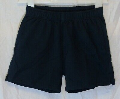 Boys Next Navy Blue Elasticated Waist Jogger Sweat PE School Shorts Age 12 Years
