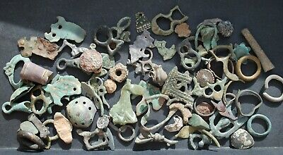Ancient Viking & Slavs  mix finds  100% original Metal detector finds