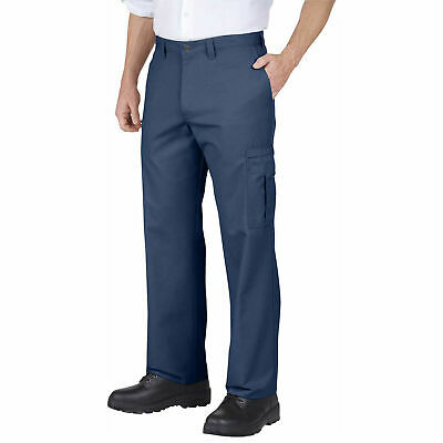 Dickies Men's Industrial Relaxed Cargo Pant Navy 36X30 2 Pairs $25 Free Ship!!