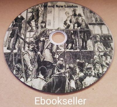 Old and new London a narrative of its history it's people in pdf ebooks on disc