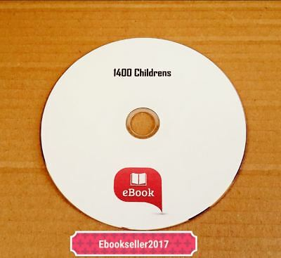 ebooks, Childrens & Juniors 1500 mixed Authors in kindle & epub format on a Disc
