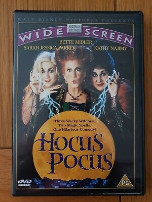 Hocus Pocus - Wide Screen - Dvd Edition - Like New Condition