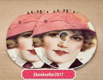 ebooks Photoplay Magazine 60 old magazines in pdf files on 2 discs for PC laptop