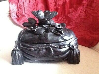 19th Century Carved German Black Forest Box