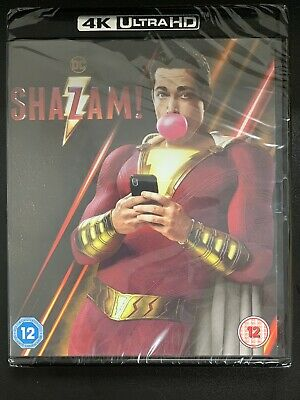 Shazam - 4K UHD Ultra HD  Blu-ray - Brand New & Sealed - CLEARANCE SALE PRICE