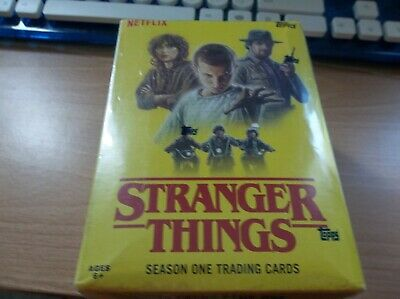 2019 Topps STRANGER THINGS Season 1 Netflix 10 Packs w/Patch Card Factory Sealed