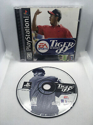 Tiger Woods 99 PGA Tour Golf - Complete CIB - Playstation 1 PS1 PSX