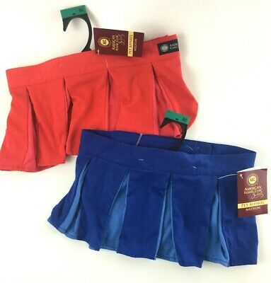 American Kennel Club AKC Med Red Blue Skirts Clothing Tennis Dog Pet Apparel NWT