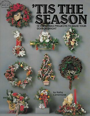 Christmas Projects Crafts Table Centerpieces Wreaths Swags Book Craft Book