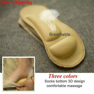 3D Breathable Arch Support Boat Socks Foot Massage Health Care Women Ladies Hot