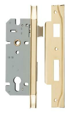rebated euro mortice lock 85 mm,range of finishes,45 mm backset,suit left right