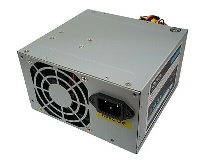 550W ATX Power Supply PSU Silent 120mm Fan Desktop Computer PC Gaming