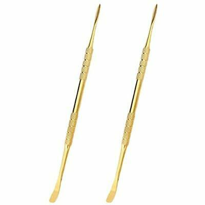 """Gold Wax Carving Ear Tool Stainless Steel 4.75"""" - Major Key Success (2-Pack)"""