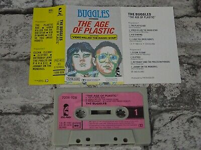 BUGGLES - The Age Of Plastic (UK)  / Cassette Album Tape/A3133