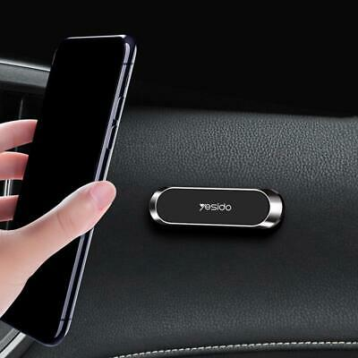 Black Strip Shape Magnetic Car Phone Holder Stand For iPhone Mini Magnet Mount