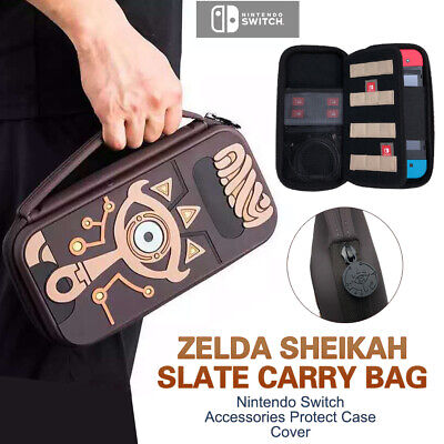 Zelda Sheikah Slate Carry Bag Étui protecteur pour commutateur Nintendo Switch