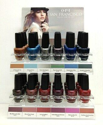 OPI NL F53 - F64 # Lacquer Nail Polish San Francisco Collection New Hot