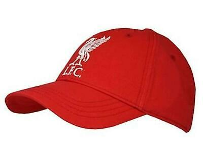 Official Liverpool FC Red Baseball Cap(Size: One Size)