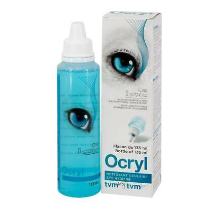 Ocryl Tear Stain Remover & Eye Cleaner For Cats And Dogs 135ml bottle