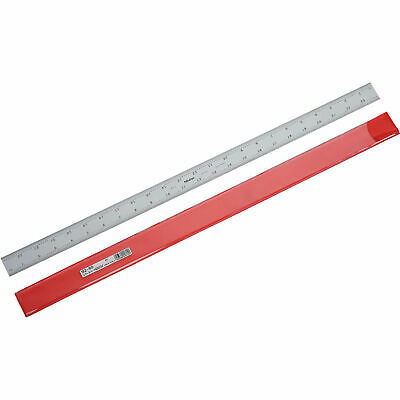 Mitutoyo 24/600mm Stainless Steel Ruler, 3/64 Thick, 1 - 3/16W