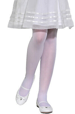 Girls Kids Sheer Delicate Soft Tights 20 den Bridesmaid Party Communion Aurellie