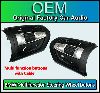 BMW 1 Series Steering Wheel control buttons Multi function, BMW F20 F21 M Sport