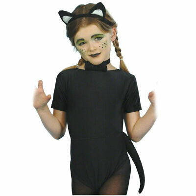 Kids Cat Ears Tail and Bowtie Set