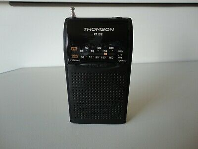 THOMSON RT102  Portable Pocket Radio FM/AM Full Working