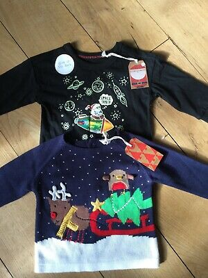 Boys Christmas Clothes Brand New With Tags NEXT 9-12 Months