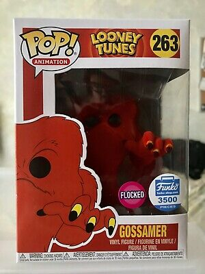 Funko Pop! Animation Looney Tunes Gossamer (Flocked) Funko Shop Exclusive #263