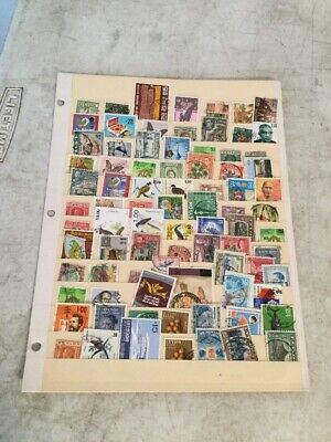 Ceylon/Sri Lanka Collection Of 85 Different Used Stamps