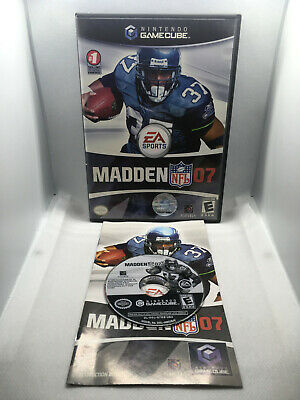 Madden NFL 07 -EA Sports Football - Case and Disc - Nintendo Gamecube GC