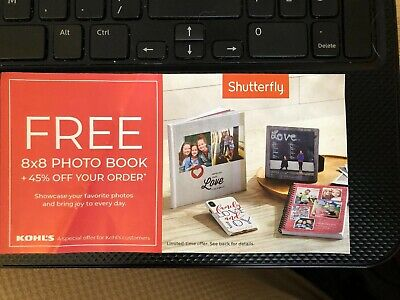 Shutterfly 8x8 Photo Book Free Code Plus 45% Off Code