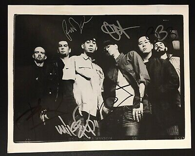 Linkin Park signed autograph autographed 8x10 photo Chester Bennington Shinoda
